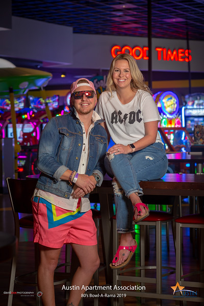 AAA 80's Bowl-A-Rama at Main Event (April 2019)