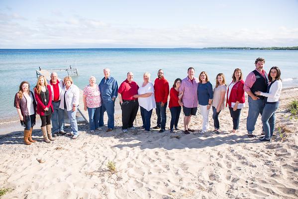 Traverse City Family Photography on Lake Michigan