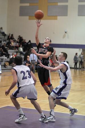2011-01-04 BHS Men's JV Basketball @ Ardrey Kell