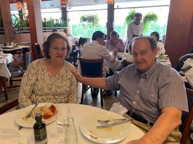 family at Ruffino's Restaurant