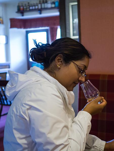 Becca Whisky tasting