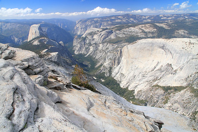Half Dome, Clouds Rest, Glacier Point & Merced Lake, October 2012