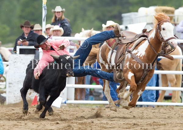 Steer Wrestling... Princeton 2011