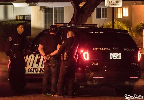 Costa Mesa Burglary - January 1st, 2016