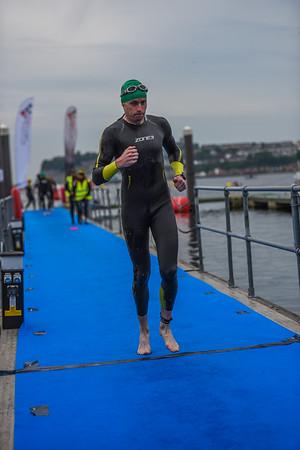 Cardiff Triathlon - Wave 4 Green Hat
