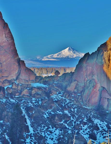 Winter Smith Rock