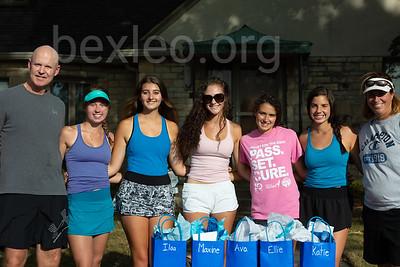 Girls Tennis Practice (Senior Night)