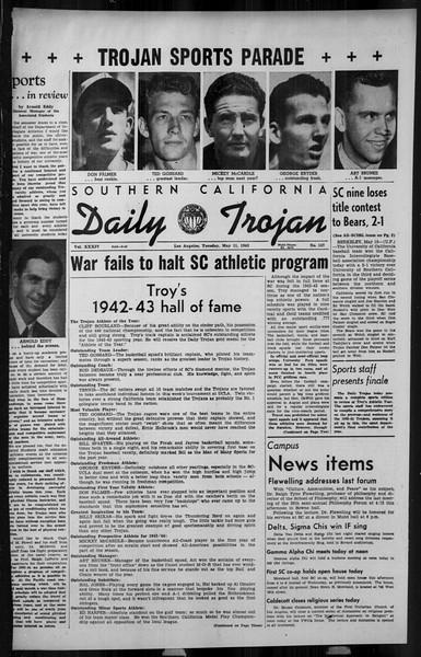 Daily Trojan, Vol. 34, No. 144, May 11, 1943