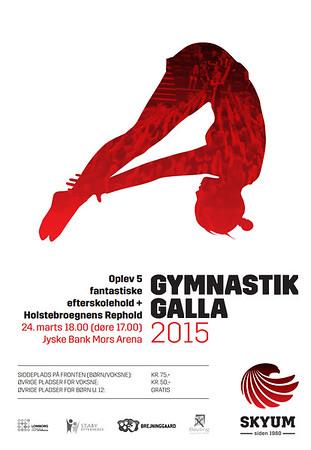 Gymnastik Galla - Jyske Bank Mors Arena - Marts  2015