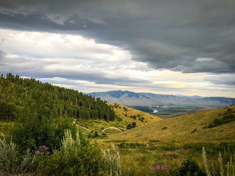 View at the National Bison Range