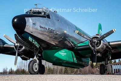 C-FBAJ Douglas DC4
