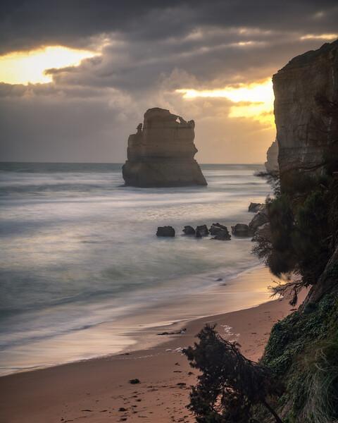 Golden Beach || Gibson Steps