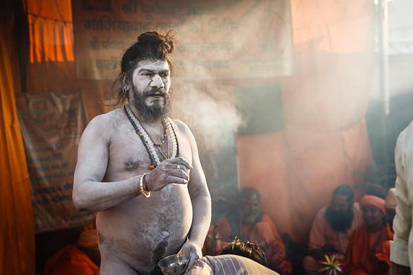 Sadhus (cultural nude)