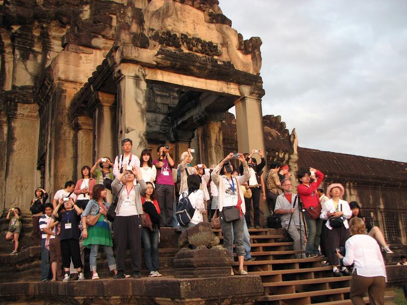 Angkor Wat at Sunrise. A sort of digital Matins.