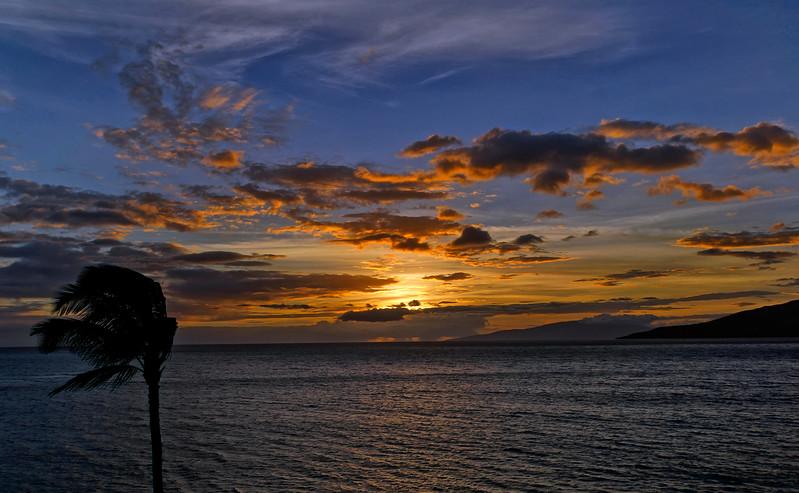 Progession of a sunset - Maalea Harbor, Maui