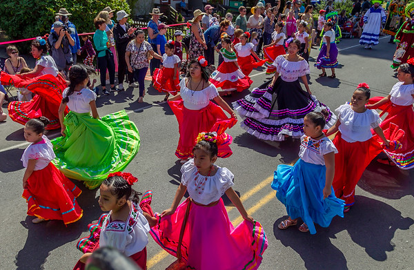 Set six the Grand Parade, Vashon Island Strawberry Festival 2019