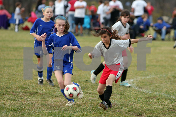 U-12 girls Williamsburg vs.New Richmond '09
