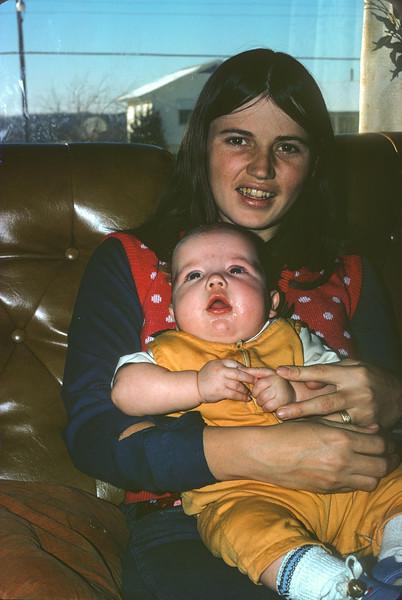Claudia And Billy John, December 10, 1972