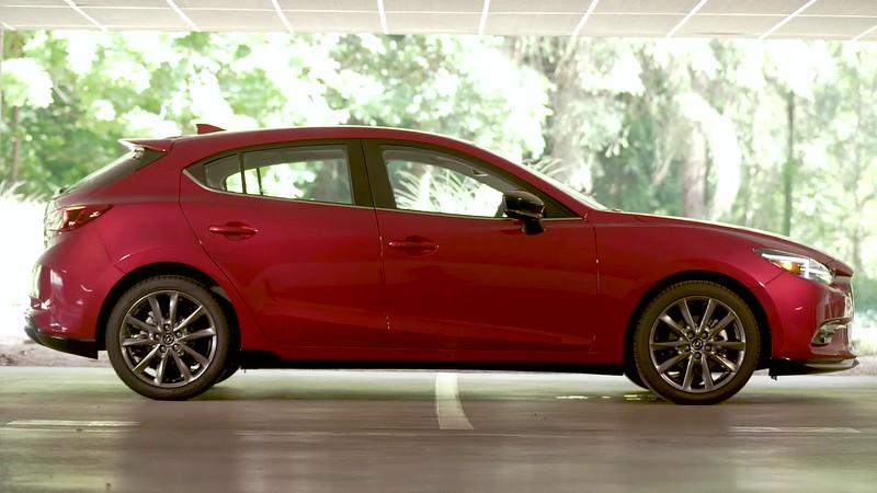2018 Mazda3 5-Door Grand Touring Parked Reel