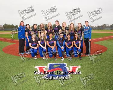 2015 West Brook Softball