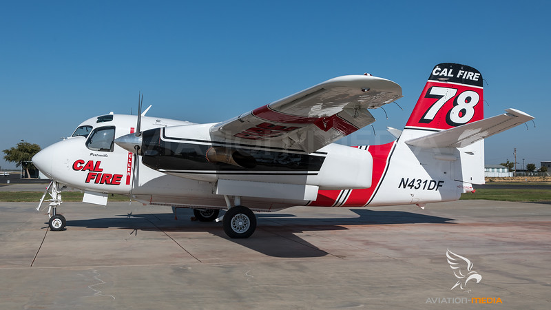 CAL Fire / Marsh Aviation S-2F3AT Turbo Tracker / N431DF