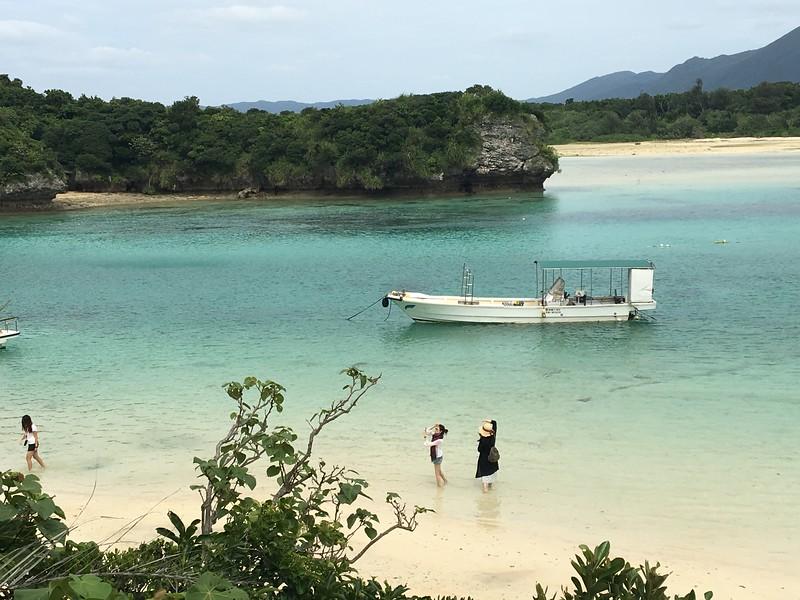 岸上風光類-悠閒的川平灣.JPG