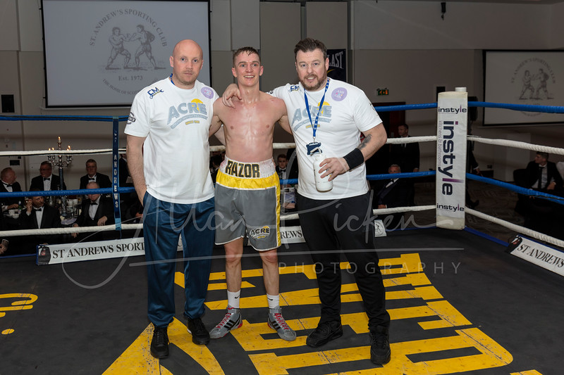 ST ANDREWS SPORTING CLUB BOXING