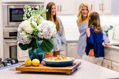 magazine kitchen shoot