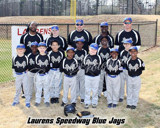 Laurens Speedway Blue Jays