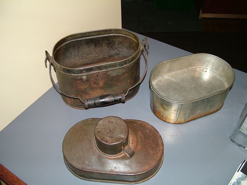 Type of Lunch Box used by mill workers.