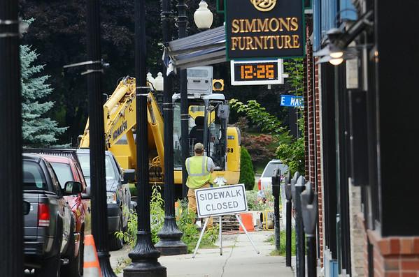 Park Street Construction in Adams 082214