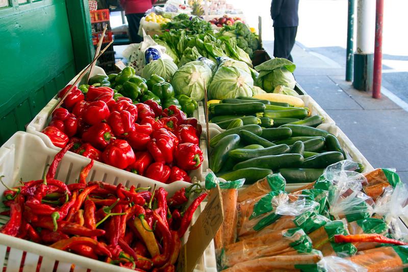 Italian Market bins