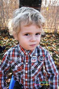 Joshua Kindergarden Portaits November 2011