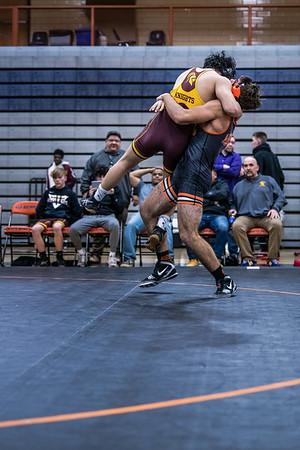 WBL Varsity Wrestling -V- Irondale 1-31-20