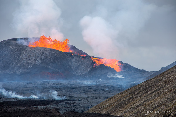 ICELAND:  Volcanoes and Lava - Click to Open