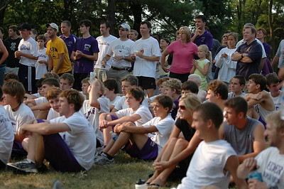 2007 Cross Country vs. Alumni