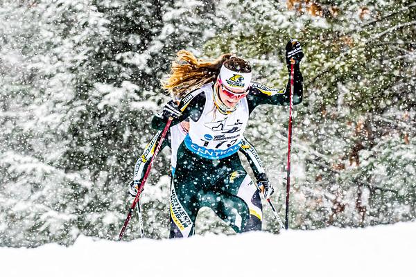 2021 - NCAA Nordic Regionals - Women - Day 2 - 15k Skate