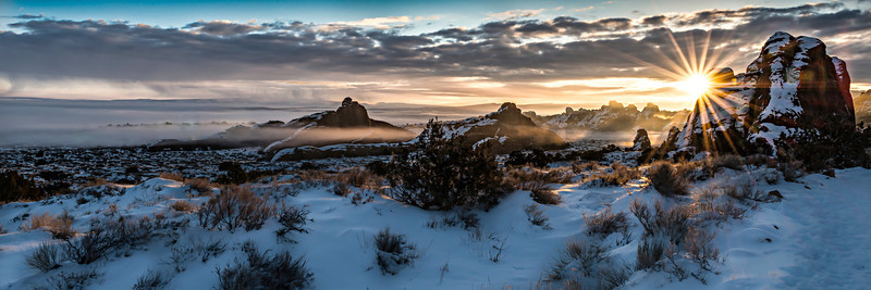 Arches National Park, Moab, Utah, USA. © 2013 by Jared Youtsey Choose a 12 x 36 ratio crop for this photo.
