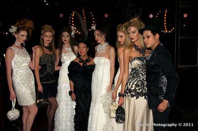 """Sue Wong """"lady or Vamp"""" 2011"""