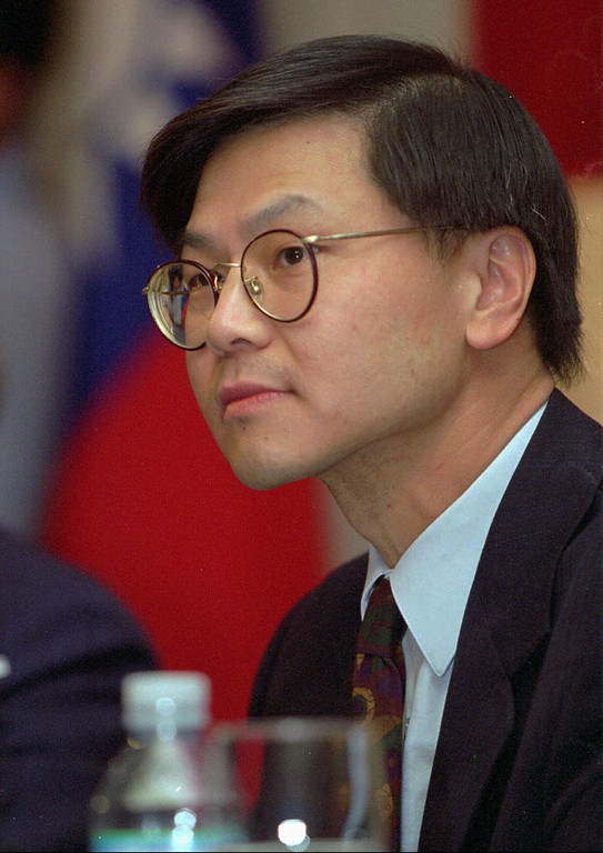 . 1996: David Ho. David Ho, pioneering AIDS researcher and Time magazine\'s 1996 Man of the Year, listens to a reporters question during a news conference at a Taipei hotel Wednesday, January 29, 1997, marking his first return to his native Taiwan since winning the magazine\'s highest honor last december. (AP Photo/CNA, Wang Fei-hua)