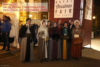 2016-1222 Vocality @ Royal Christmas Fair Den Haag