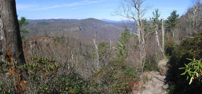 Table Rock Summit Trail -- 3,640'