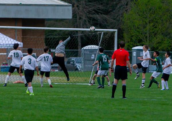 Game Set ten: Vashon Island High School Boys Varsity Soccer v Charles Wright - Nisqually League Championship