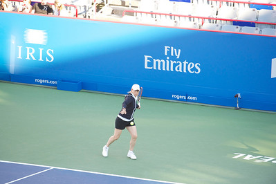 2012 - August - Rogers Cup - Montreal - Women