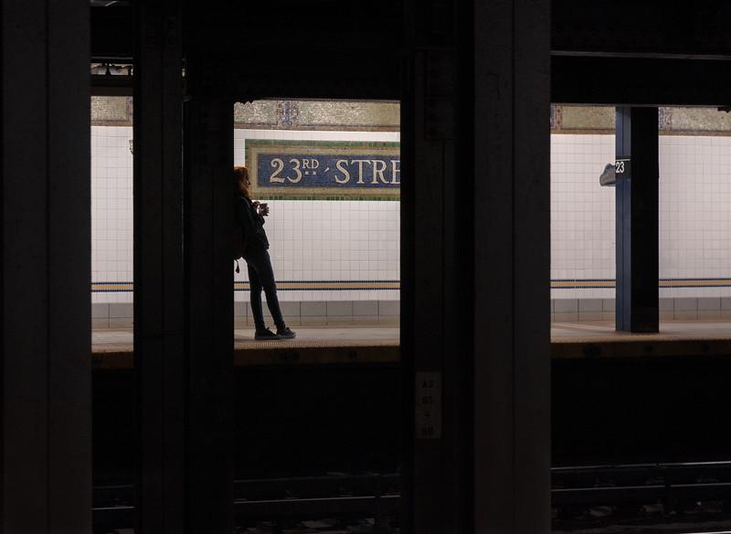 23rd Street Silhouette