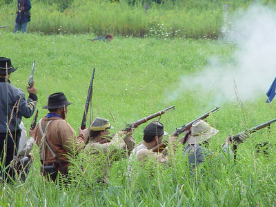 Erie Canal Civil War Reenactment 2003