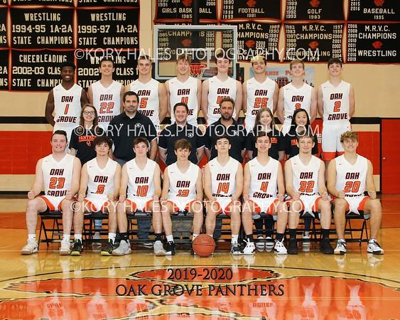 2019-2020 OGHS Boys Basketball