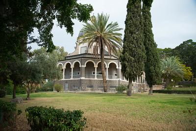 Sunday: Mt. of Beatitudes, Magdala, boat ride on Sea Galilee, baptism Jordan River