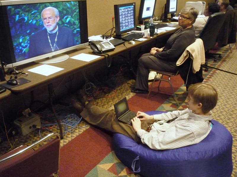 Blogging the Bishop.