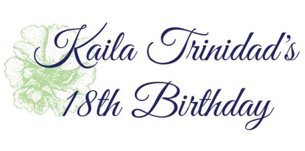 20180811 Kaila 18th Birthday